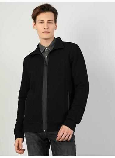 Colin's Slim Fit Erkek Siyah Ceket Siyah
